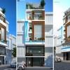 Thiết kế nhà phố 6 tầng hiện đại và tiện nghi