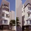 Thiết kế nhà phố 2 mặt tiền hiện đại tại Ba Đình – Hà Nội