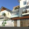 Thiết kế biệt thự phố 2 tầng tại Ninh Bình