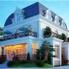 Biệt thự cổ điển 2 tầng classic lãng mạn tại Bình Dương
