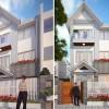 Cải tạo nhà phố 3 tầng phong cách hiện đại