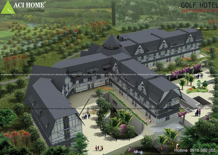 5 mẫu thiết kế khách sạn kiểu pháp - 267685