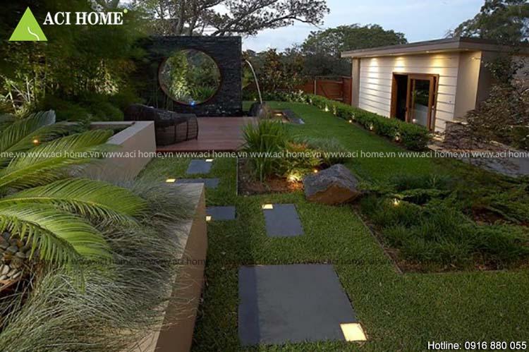 Phong thủy người Việt với kiến trúc sân vườn đẹp