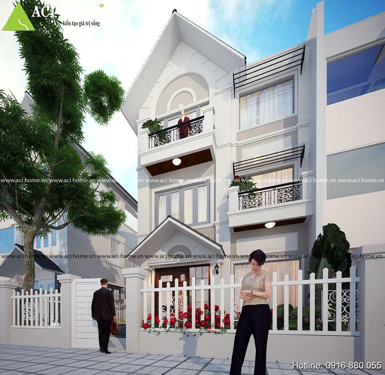 Cải tạo nhà 3 tầng