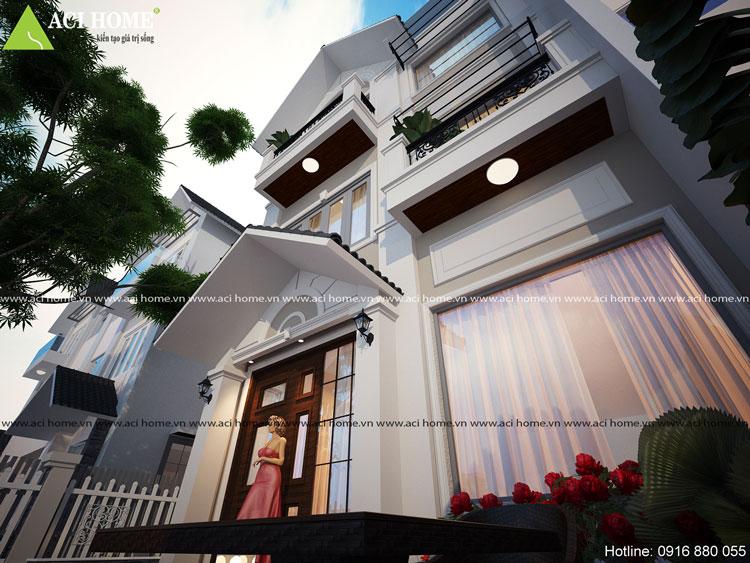thiết kế cải tạo nhà 3 tầng đẹp