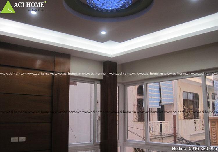 Thiết kế nội thất  - Thi công nhà lô phố 5 tầng