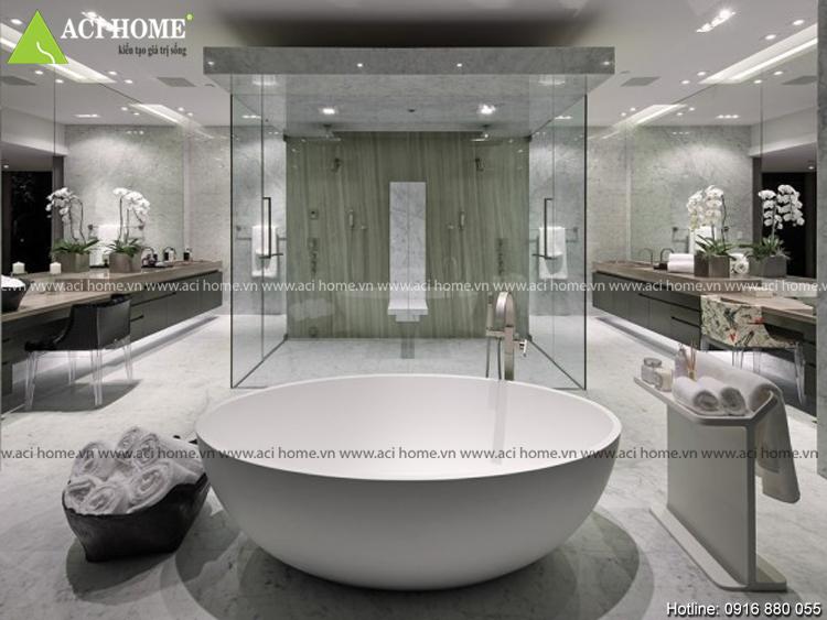 Kiến thức trong phong thủy với thiết kế nhà vệ sinh