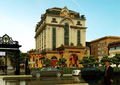 Thiết kế khách sạn tại Bắc Ninh sang trọng