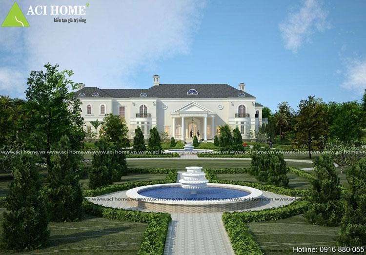 Chuyện thiết kế khác sạn kiểu pháp Thanh Vân và mẫu thiết kế biệt thự kiểu pháp 2 tầng - 205457