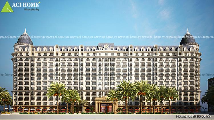 5 mẫu thiết kế khách sạn kiểu pháp - 267686