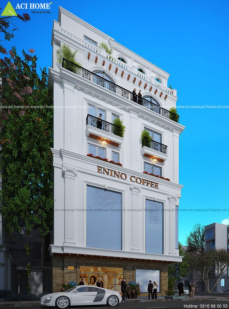 Tác phẩm mới - Mẫu thiết kế nhà phố kết hợp kinh doanh tại Gia Lâm Hà Nội