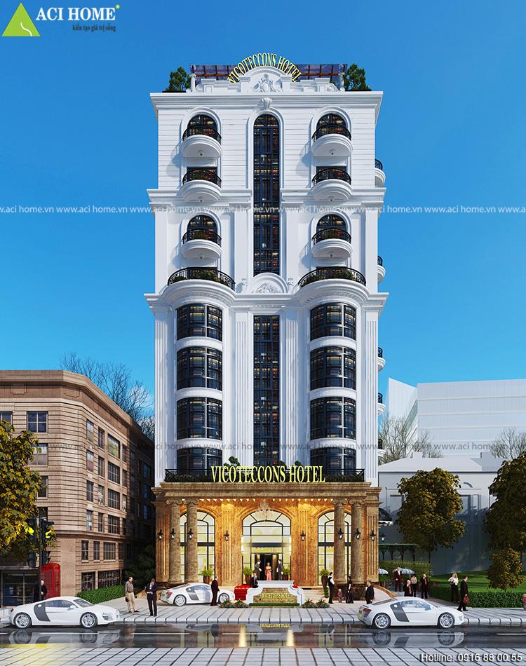 Chuyện thiết kế khác sạn kiểu pháp Thanh Vân và mẫu thiết kế biệt thự kiểu pháp 2 tầng - 205454