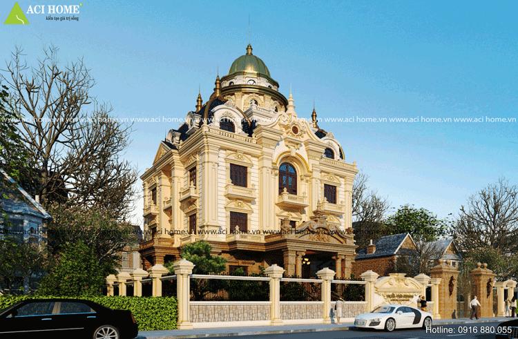 Ý tưởng thiết kế biệt thự cổ điển chuyển nghiệp - 214314