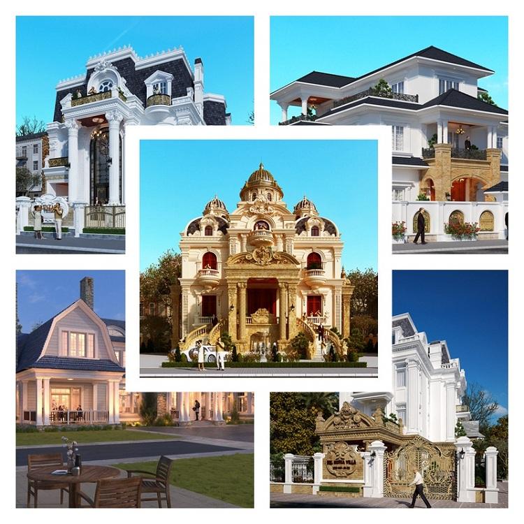 Thiết kế biệt thự ACI Home - Đa dạng phong cách