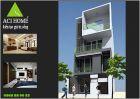 Thiết kế nhà phố 3 tầng hiện đại tại Lào Cai