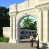 Cổng dinh thự đẹp kiểu Pháp