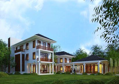 Ấn tượng phong cách thiết kế biệt thự Á Đông