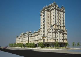 Trung tâm thương mại và khách sạn Việt Long bề thế ở Bắc Ninh
