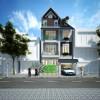 Thiết kế biệt thự phố 3,5 tầng tại Nghệ An