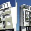 Thiết kế nhà phố 5 tầng hiện đại tại Hoàng Hoa Thám