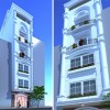 Dấu ấn thiết kế nhà phố kiểu Pháp 5 tầng