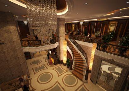 Nội thất khách sạn 13 tầng đẳng cấp tại Hà Tĩnh