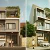 Thiết kế nhà phố 3 tầng hiện đại tại Đông Anh