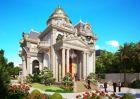 Biệt thự cổ điển với thiết kế lâu đài tại Lạng Sơn