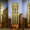 Thiết kế khách sạn mini 9 tầng phong cách cổ điển Pháp