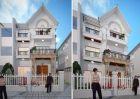 Cải tạo biệt thự xây thô với thiết kế nội ngoại thất sang trọng