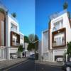 Cải tạo nhà phố 3 tầng tại Đông Anh
