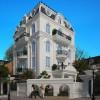 Thiết kế biệt thự kiểu Pháp 5 tầng,2 mặt tiền tuyệt đẹp tại khu đô thị Mỹ Đình 2 – HN