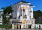 Biệt thự kiểu Pháp 3 tầng tại Lạng Sơn là kết tinh của vẻ đẹp hoàn mỹ