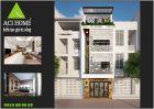 Thiết kế nhà phố hiện đại 4 tầng đẹp ấn tượng tại Ninh Hiệp