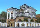 Thiết kế biệt thự tân cổ điển 3 tầng đẹp nguy nga tại Lạng Sơn