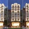 Thiết kế khách sạn cổ điển Pháp 9 tầng đẹp lung linh tại Q1 – Sài Gòn