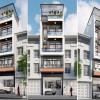 Thiết kế nhà phố hiện đại 5,5 m mặt tiền sang trọng tại Bắc Ninh