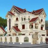 Thiết kế biệt thự sang trọng tại Nghệ An với kiến trúc tân cổ điển ấn tượng