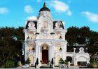 Thiết kế biệt thự kiểu Pháp tinh tế từng đường nét thẩm mỹ tại Sóc Trăng