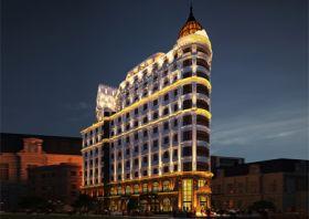 Thiết kế khách sạn kiểu Pháp tại Đà Nẵng-Trung tâm thương mại và nghỉ dưỡng đẳng cấp