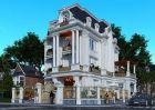 Tư vấn thiết kế biệt thự cổ điển tại Lâm Đồng – 3 tầng 1 tum sang và độc