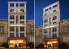 Thiết kế khách sạn 8 m mặt tiền phong cách Pháp tráng lệ tại TP Pleiku