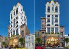 Thiết kế khách sạn 12 m mặt tiền phong cách Pháp tại Hạ Long