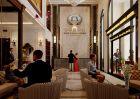 Thiết kế nội thất khách sạn tại Mễ Trì với đẳng cấp sang trọng phong cách cổ điển