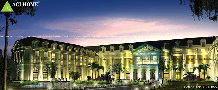 Kiến trúc khách sạn tân cổ điển