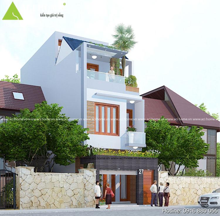 Nhà phố hiện đại Thái Bình