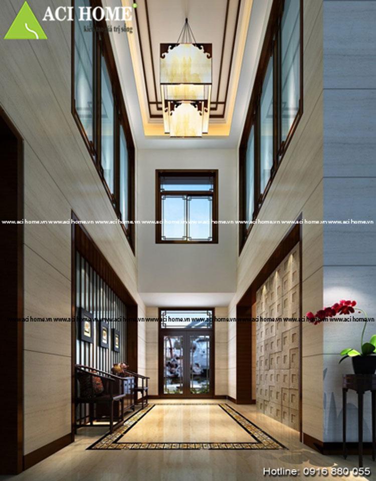 Thiết kế sản nội thất Á Đông