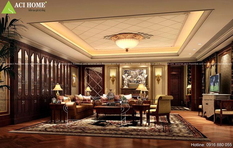 thiết kế nội thất châu Âu