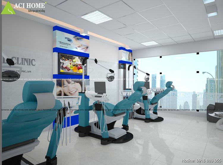 Nội thất phòng khám nha khoa