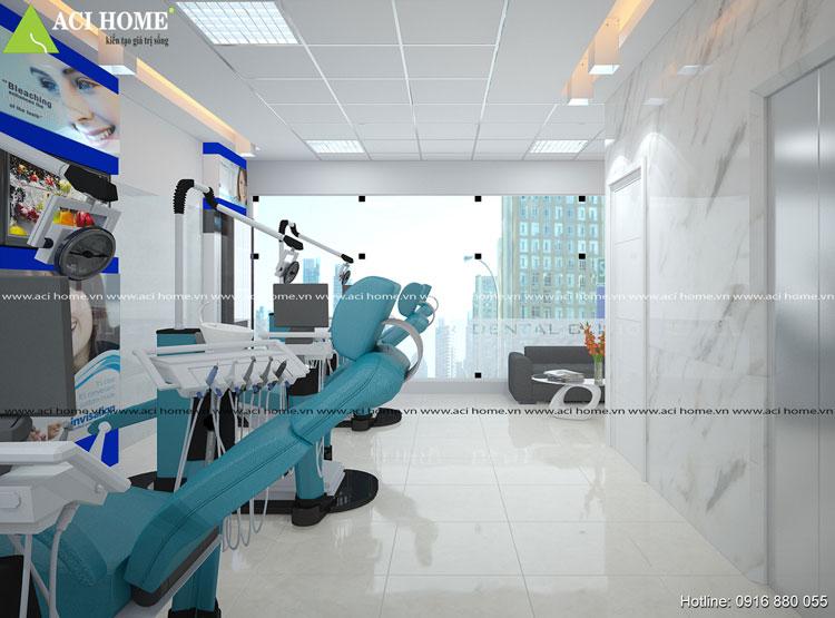 Thiết kế phòng khám nha khoa Đông Hà cực đẹp